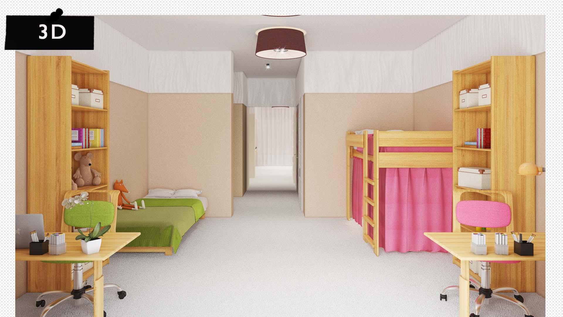 Projekt realizace interiéru bytu